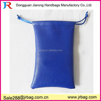 leather drawstring pouch for gift