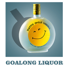 China fabricante atacado 750 ml vodka com private label