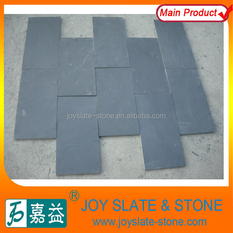 Natural black slate of outside paving stone