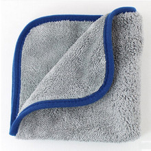 "Car Buffing Polishing Plush Microfiber Towel 1200GSM 16""X16"""