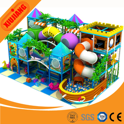 Factory Direct Sale, Field Assembly.CE Standard,Unique design - Indoor playground equipment