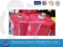 pink transparent color film self adhesive