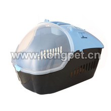 Hot sale big American style plastic flight pet carrier /dog crate CA007