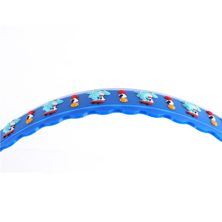 سلامة البلاستيك حاكم حاكم شكل مختلف 30 سنتيمتر مشطوف الحواف البلاستيك تقويم