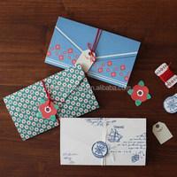 Fancy handmade gatefold envelope for the wedding -EA038