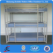 3 person metal bunk tube bed specification of bunk bed metal tube bed three bunk bed cheap 3 person bunk bed metal tube bed