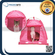 Small Animal Pop Up Tent Pink Pet Home Cute Outdoor Stand Up Tents