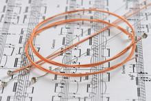 Strings, Guitar Strings, Acoustic Guitar Strings / 8 Strings Per Pack
