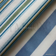 Printed stripe bedsheet for hospital printed bed sheet