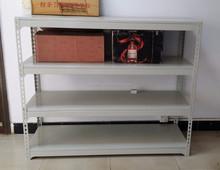 Warehouse Stacking Customized Rivet Slotted Angle Racks,Longspan Shelving