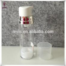 vacía de plástico base maquillaje sin aire botella con bomba