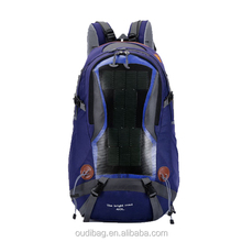 china custom Superior quality camping backpack solar panel carry bags