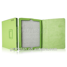 cute leather case for tablet pc,pu leather case for ipad 5 with stand,card holding case for ipad air