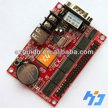 rgb led display screen controller X3 ,USB and serial port,no need put lines