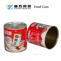 (C08) The Round Tinplate Material Beverage Tin Can For Soft Drink 200ml 250ml 500ml With Manufacturing Plants Prices