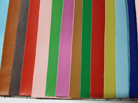2015 Hot selling artificial leather 100 pu synthetic leather