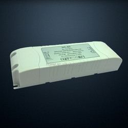60w cob 36v dimmable triac led driver with SAA C-tick