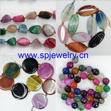 mixed agate beads, wholesale gemstone beads