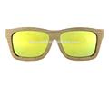 Oem gafas, gafas de sol de logotipo de la marca, gafas de madera del templo