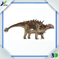 Customized 3d puzzle toys for kids, movable 3d animal puzzle