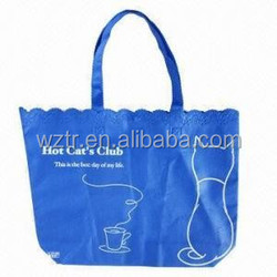 green world pp woven tote bag from factory hot sale shopping bag