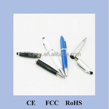 H-369-1 OEM Promotion New Style Copper Stylus Pen Shape USB Pen drive