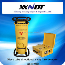 Glass tube directional portable x ray flaw detector XXQ-2505