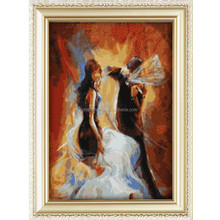 2015 ballet dancer painting hot sale popular diy full magic cube diamond painting