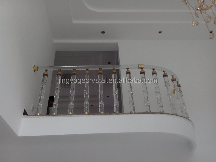 glass rails for balconies