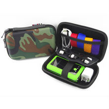 Fashion camo design Shockproof digital accessories organizer. Waterproof multi function mobile hard disk organizer(1307)