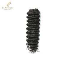 100% remy European virgin human hair weft deep wave 100% human hair extension