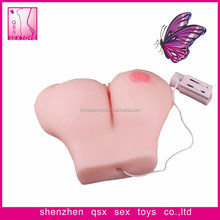 sexy breast and vagina silicone realistic vagina women sexy anal vagina toy QSX-YJM