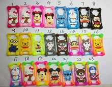 hot new style best sell colorful cartoon bumper case universal bumper silicone