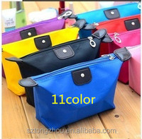 Women's cosmetic bag large capacity makeup organizer cosmetic bags nylon cosmetic box waterproof makeup bag clutch case