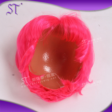 China supplier red bob doll hair manufacturers