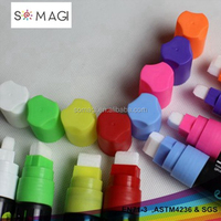 multi color marker pen-8 mm nib pen for writing on the glass