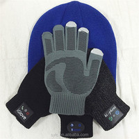 2015 Cheap Winter Knit Gloves Shaped Bluetooth Speaker