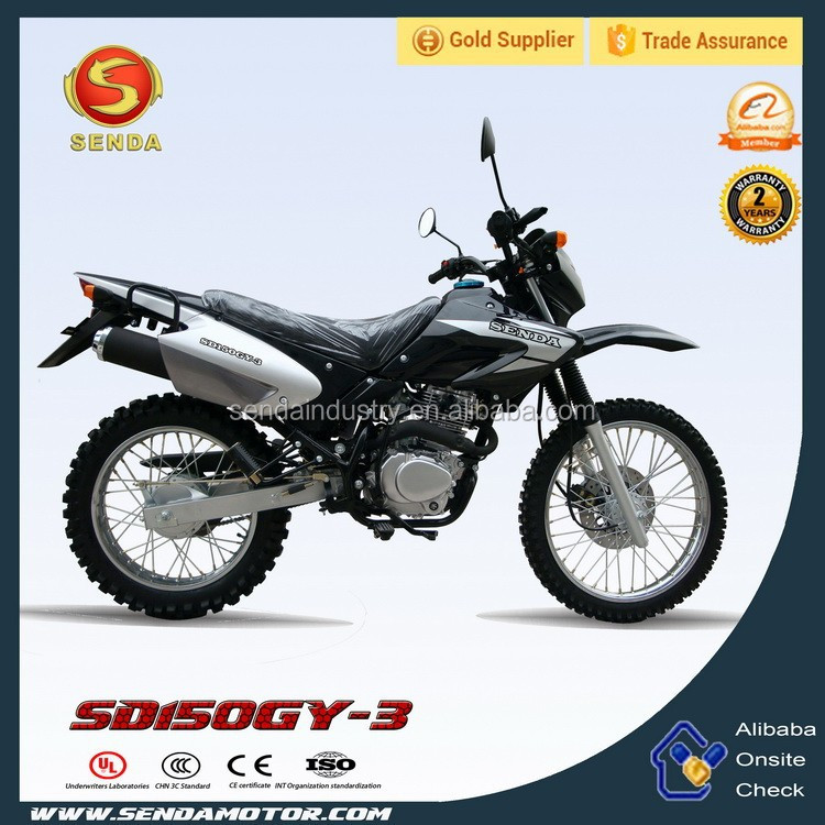 High quality 150cc dirt bike classical Tornado model