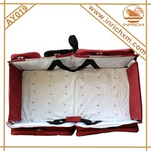 Outdoor Baby Portable Crib,Travel Foldable Baby Carry Cot Bag Small Order Acceptable