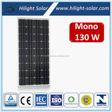 Chinese Manufacturer, Factory Price 12V 130W Mono Solar Panel