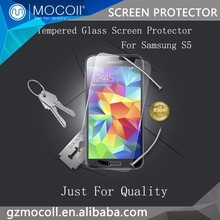 Mobile Phone Accessories Wholesale For Tempered Glass Film For Samsung Galaxy S5 Screen Protector Tempered Glass