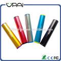 Mini 2150mah Lápiz de labios-tamaño Alta Capacidad Portátil Cargador Externo Batería Banco de Potencia USB