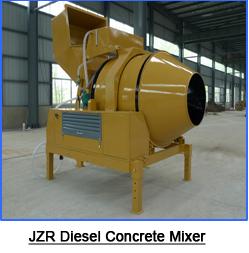 concrete mixing machine