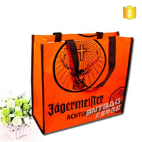 laminated non woven shopping bag/jute non woven bag buyers/new luxury shopping paper bag for cloth