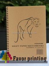 factory price waterproof paper notebook