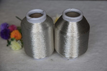 Pure silver sparkle ST-type embroidery metallic yarn ,sewing thread,knitting yarn