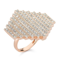 Fashion jewellery made in china rose gold ring female rings