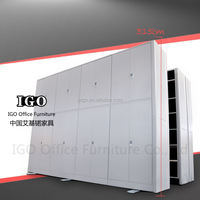 metal file cabinet Library Mobile Shelving, Archive Storage Racks Shelving mobile compactor