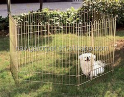 Foldable Metal Outdoor Dog Fence