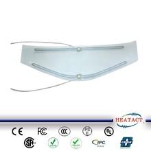 transparent helmet heater